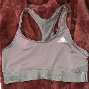 Adidas light support sport bra